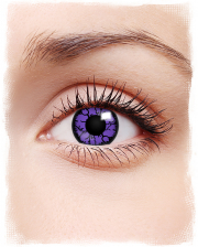 Contact Lenses Violet Reptile Motif