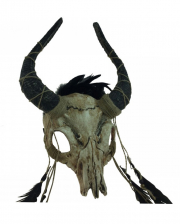 Voodoo Bison Skull Mask