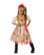 Voodoo Girl Kinderkostüm