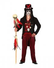 Voodoo Warlock Men Costume