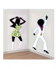"Wandfolie ""Disco Dancer"""