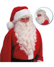 Christmas Wig With Beard 60cm