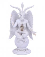 White Lord Baphomet Figure 25cm