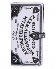Weiße Ouija Brett Geldbörse