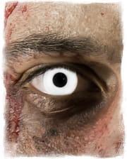 Weiße Zombie 1-Tages Kontaktlinsen