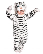 White cuddly toy toddler costume