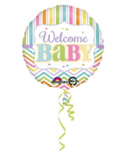 Welcome Baby Folienballon 43cm