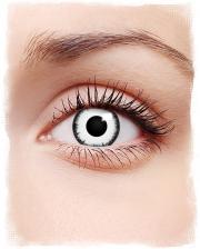 Lunatic White Kontaktlinsen