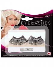 Eyelashes Black Extra Long
