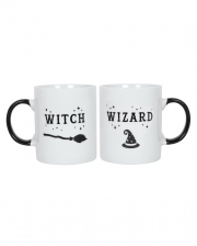 Witch & Wizard Kaffeebecher Set
