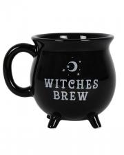Witches Brew Witch Cauldron Coffee Mug