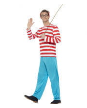 Where`s Wally Men Costume