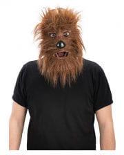Werwolf Maske Economy braun