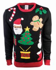 X-Mas Motive Weihnachtspullover