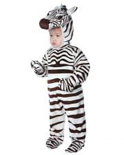 Zebra Kleinkinderkostüm