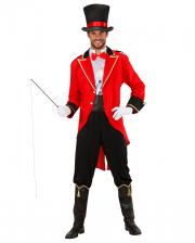 Zirkusdirektor Kostüm mit Zylinder
