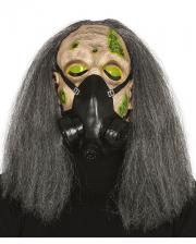 Zombie Halloween Gasmaske