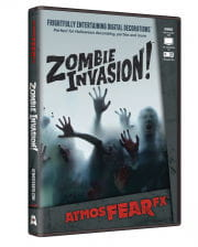 Zombie Invasion TV Halloween Effect DVD