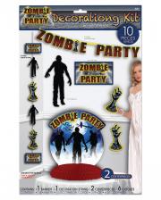 Zombie Party Decoration Set 10 Pcs