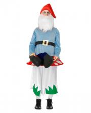 Dwarf On Mushroom Men Costume