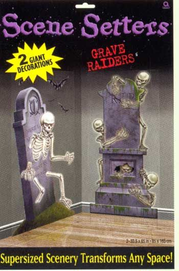 Grave robbers wall film