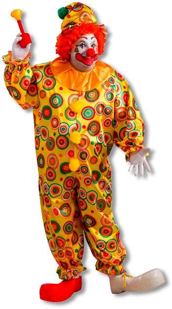 Jack The Jolly Clown Costume Clown Costume Plus Size Xl Costumes