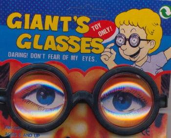 Scherzbrille Professor