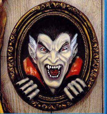 Dracula / vampire mural