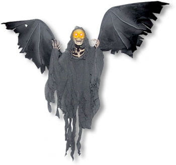 Flying reaper animatronic halloween animatronic horror for Animated flying reaper decoration