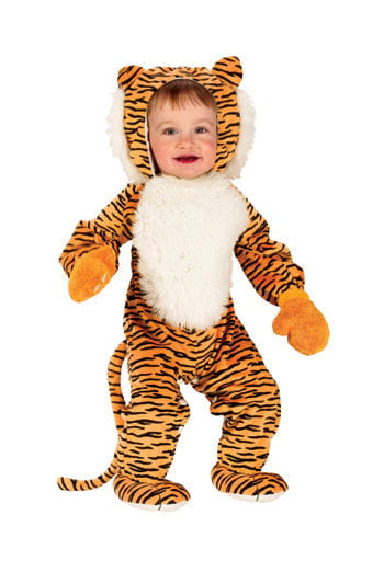 Plush Tiger Baby Costume S