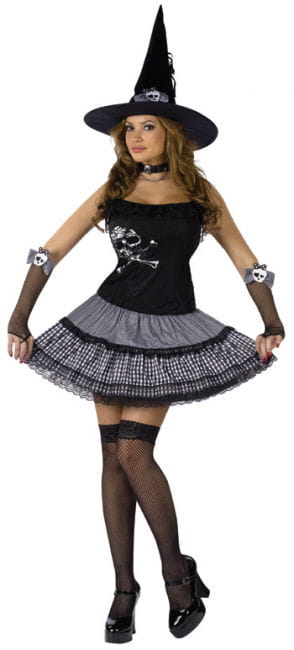 Funky Punk Witch Gr. M / L