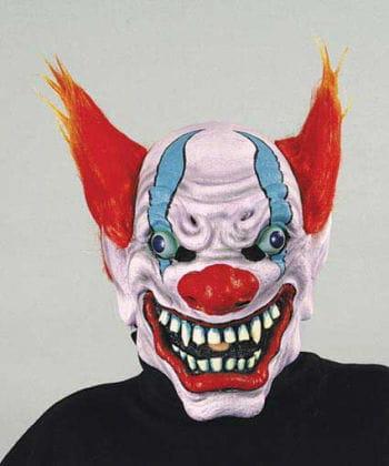 Evil Fire Clown Mask