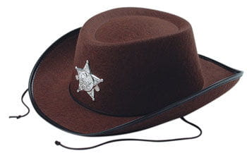 e050fe79 Kids Cowboy Hat Brown costume accessories | horror-shop.com