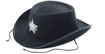 Kids Cowboy Hat Black