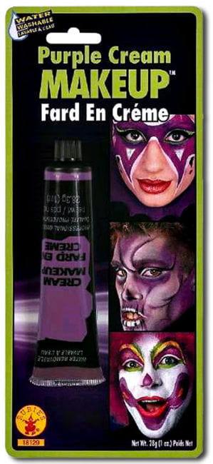 Creme Make Up Violett in der Tube