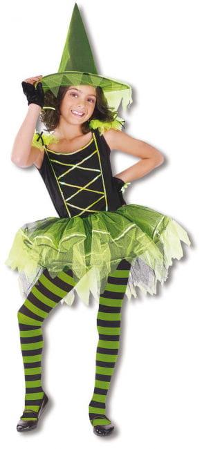Ballerina Hexe Kinderkostüm L