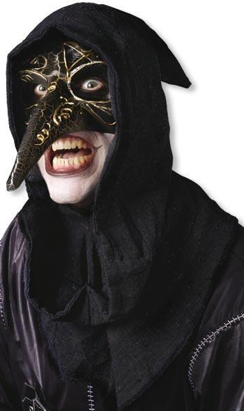 venezianische maske schwarz venezianische karnevalsmasken preiswert online kaufen horror. Black Bedroom Furniture Sets. Home Design Ideas