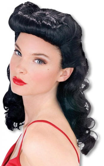 Burlesque Beauty Wig black