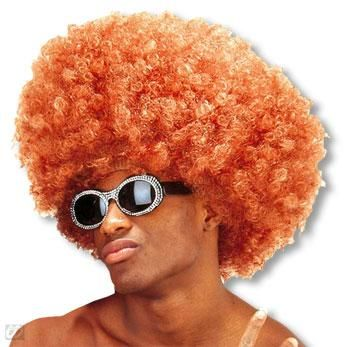Krause Afro Wig Red Brown