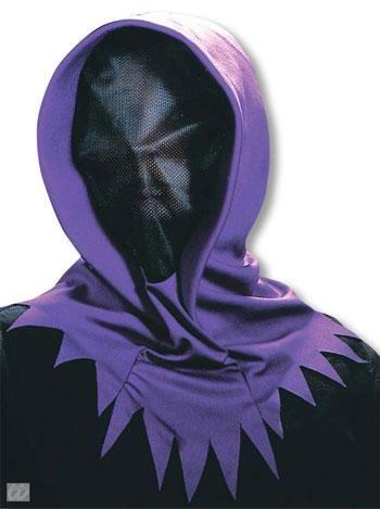 Unsichtbares violettes Phantom Maske