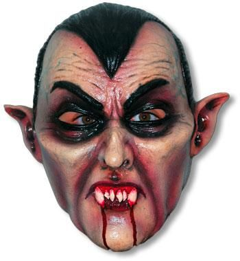Vampir Latex Maske