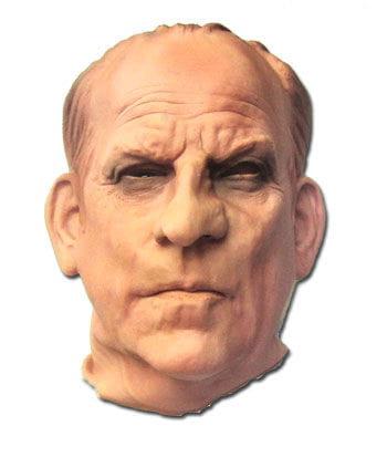 Banker mask made of foam latex