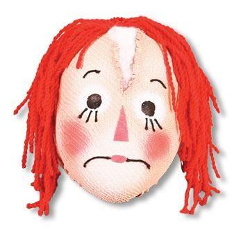 Rag Doll Puppen Maske