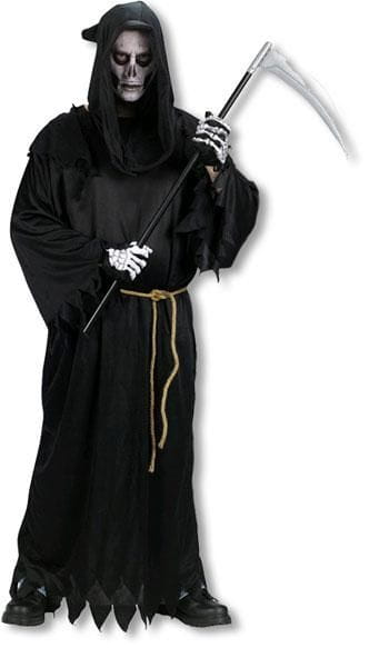 sensenmann kost m reaper verkleidung halloween kost m. Black Bedroom Furniture Sets. Home Design Ideas