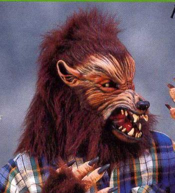 Howl Oween Wolf Mask
