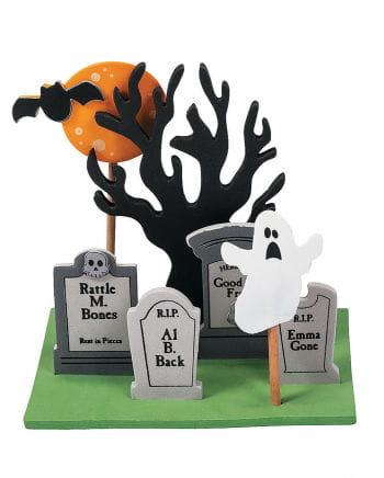 3D Mini Cemetery Plug Set