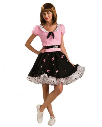 50er Jahre Rock`n Roll Kostüm-Kleid
