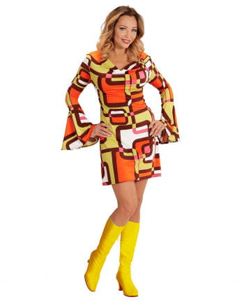Groovy 70\'s Dress Tubes for 70s party | horror-shop.com