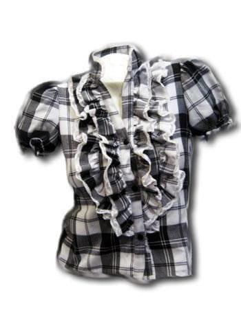 Karo ruffle blouse SZ.L
