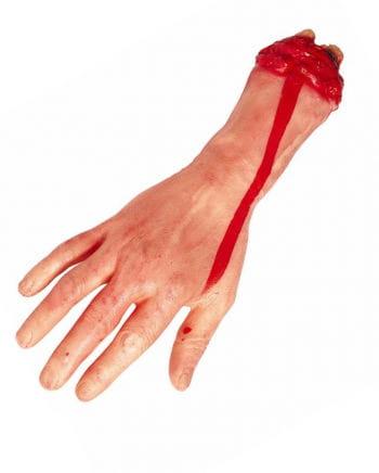 Abgehackte blutige Hand Halloween Deko | Horror-Shop.com